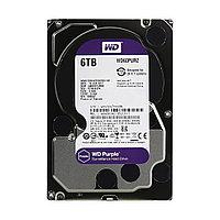 Жёсткий диск для видеонаблюдения Western Digital Purple HDD 6Tb WD60PURZ