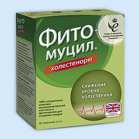 Фитомуцил Холестенорм 5 гр №30 пор.