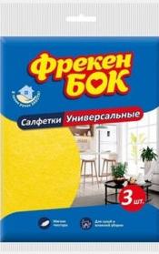 Салфетка Фрекен Бок, Универсальная-3шт