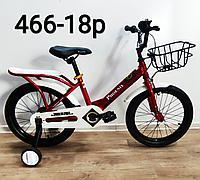 Велосипед Phoenix красный оригинал детский с холостым ходом 18 размер