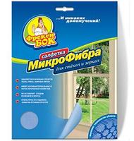 Салфетка Фрекен Бок Микрофибра для стекол и зеркал