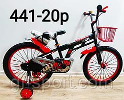 Велосипед Philips красный алюминиевый сплав оригинал детский с холостым ходом 20 размер