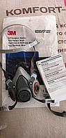 Полумаска 3M 6200 респиратор