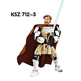 Конструктор аналог Лего 75109 KSZ712-3 обиван кеноби star wars lego Звёздные Войны, фото 3