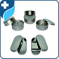 Лотки стоматологические с крышкой специальные, с укладкой для эндоканального инструмента
