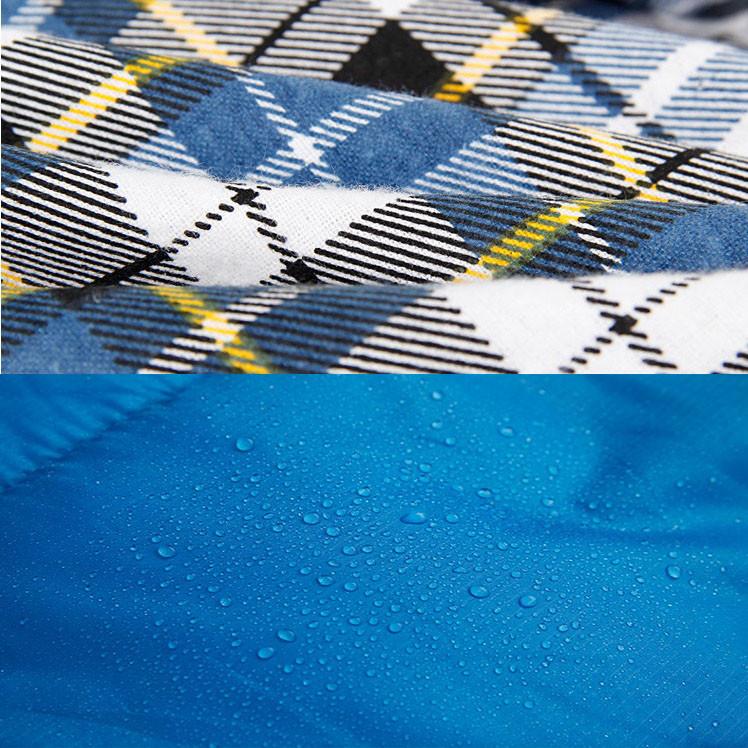 Спальный (туристический) мешок синтепоновый непромокаемый с левой молнией 230х90 см Mimir outdoor - фото 10