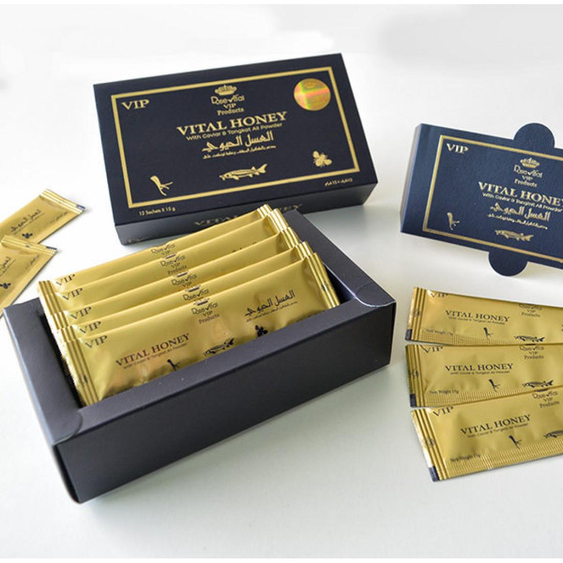 Королевский мед Vital Honey средство для мужской силы.