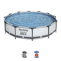 Каркасный бассейн 56416, Steel Pro MAX, размер 366x76 см, фото 1