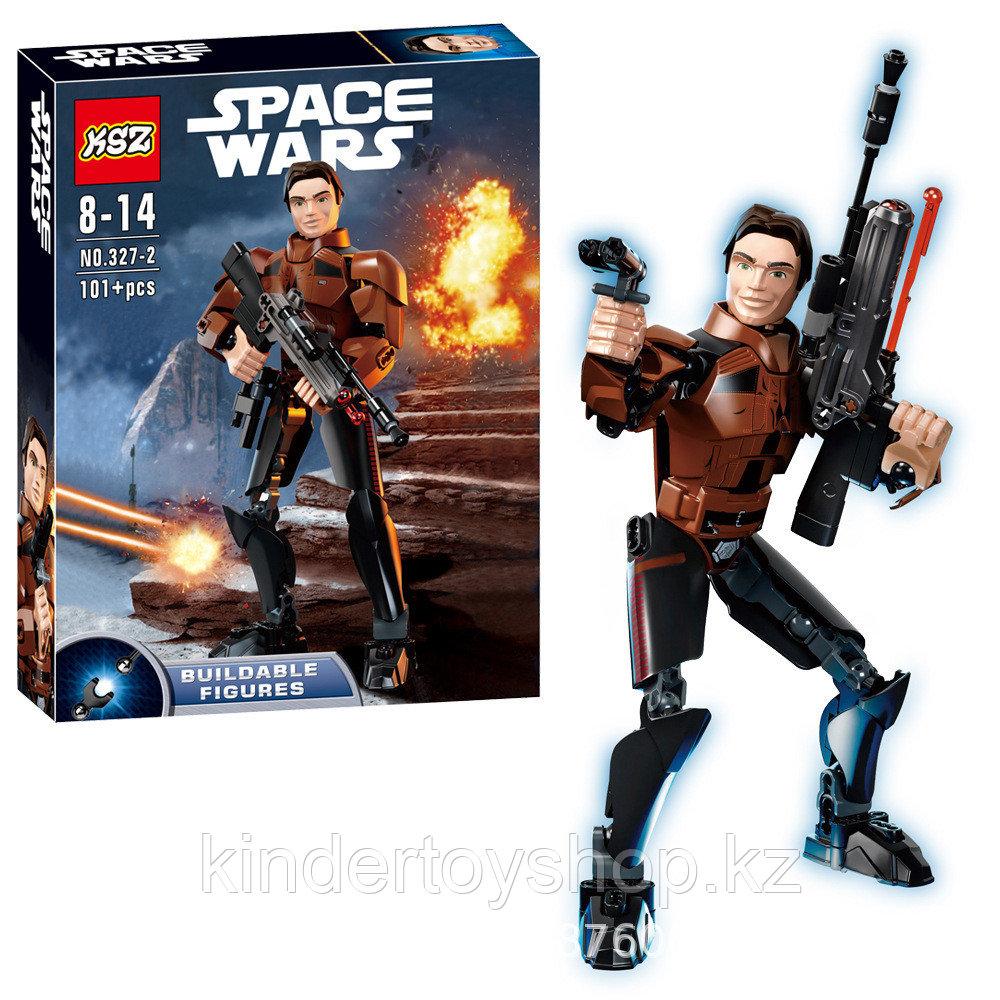 Конструктор аналог Лего 75535 KSZ327-2 Хан Соло «Han Solo star wars lego Звёздные Войны