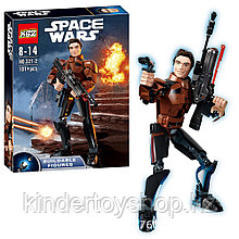 Конструктор аналог Лего 75535KSZ327-2 Хан Соло «Han Solo star wars lego Звёздные Войны