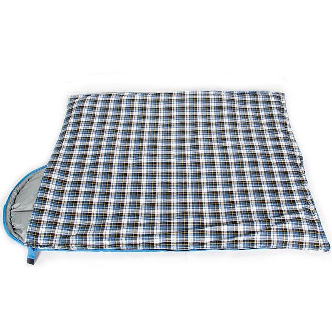 Спальный (туристический) мешок синтепоновый непромокаемый с левой молнией 230х90 см Mimir outdoor - фото 3