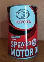 Оригинальное моторное масло TOYOTA SP 0w20 GF-6A 1L