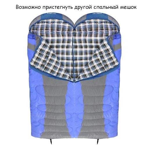Спальный (туристический) мешок синтепоновый непромокаемый с левой молнией 230х90 см Mimir outdoor - фото 4