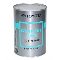 Оригинальное трансмиссионное масло TOYOTA GEAR OIL SUPER GL-5 75w90 1L