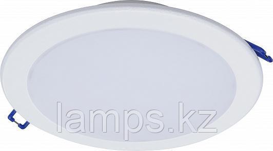 Светильник встраиваемый светодиодный Philips DN027B 7Вт, 90мм, нейтральный белый свет