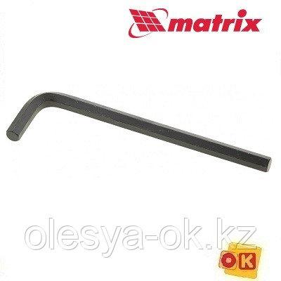 Ключ имбусовый HEX, 10 мм, CrV MATRIX