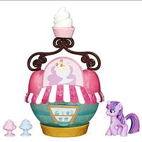 Кукла Пони MLP MLP Коллекционный мини игровой набор Твайлайт Спаркл и кафе-мороженое