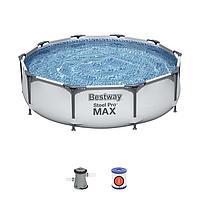 Каркасный бассейн Bestway 56408, Steel Pro MAX, размер 305x76 см, фото 1