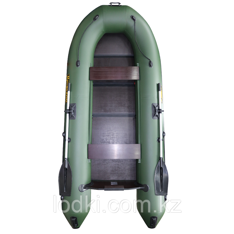Лодка надувная Лодка Муссон 3200 С (Цвет: Зелёный) - фото 1