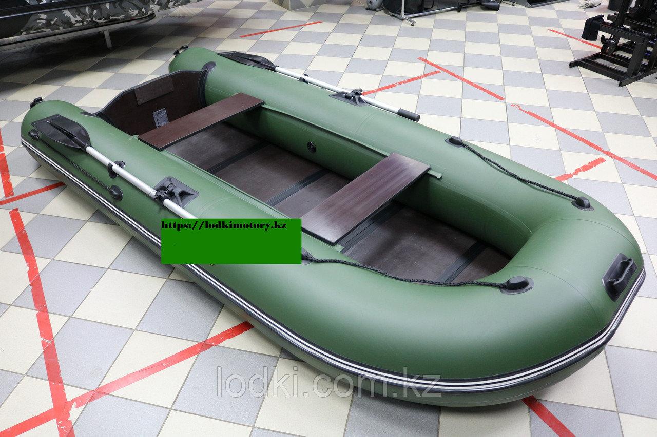 Лодка надувная Лодка Муссон 3200 С (Цвет: Зелёный) - фото 3