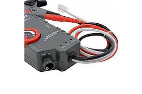 Профессиональный кабелеискатель, трассировщик скрытой проводки под напряжением до 400В (аккум Li-ion, гарнит.), фото 2