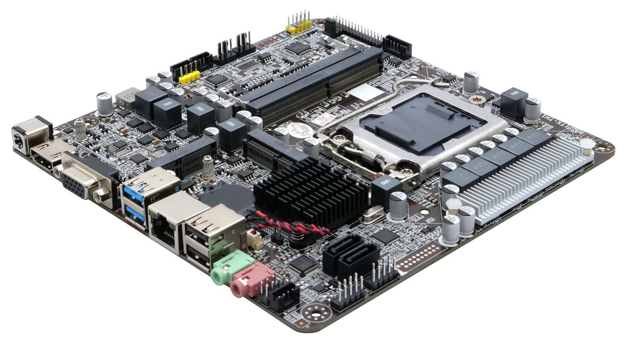 Материнская плата Intel H110 ITX