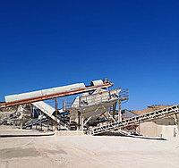 Дробильно-сортировочный комплекс производительностью 200т/ч