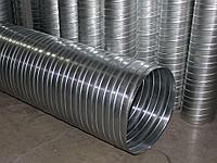 Воздуховод спирально навивной 0,7, диаметр 560 мм.