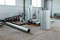 Воздуховод спирально навивной 0,7, диаметр 630 мм.