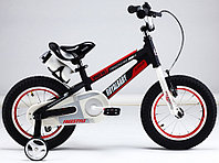 """Детский велосипед Royal Baby Freestyle Space №1 Alloy 18"""" черный"""