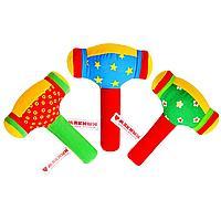 Развивающая мягкая игрушка «ШуМякиши. Молоточек»