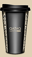 """Двухслойные стаканы с лаковым нанесением """"Qazaq Nation"""""""