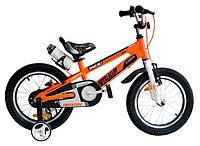 """Детский велосипед Royal Baby Freestyle Space №1 Alloy 16"""" оранжевый"""