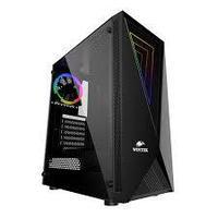 Корпус Wintek Space JX188-5 TG, ITX-ATX, USB 1*3.0-2*2.0, HD-Audio Mic, 0,5mm, 1*ARGB fan controller