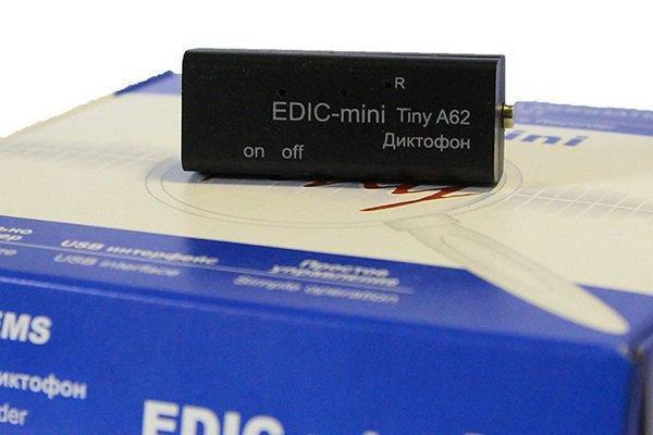 Диктофон Edic-mini Tiny A62 - фото 2