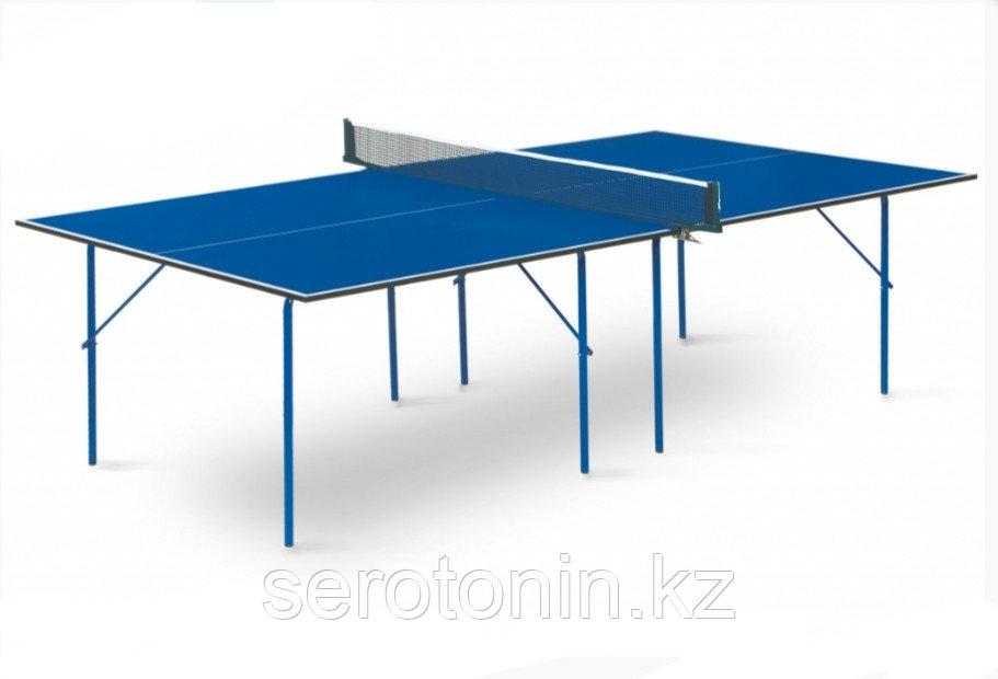 Теннисный стол Hobby Light blue