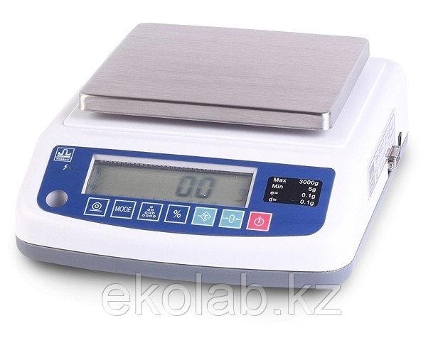 Весы лабораторные Масса-К ВК-3000.1 (3000 г, 0,1 г, внешняя калибровка)