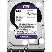Жёсткий диск HDD 6 Tb SATA 6Gb-s Western Digital Purple WD62PURZ 3.5* 5640rpm 128Mb