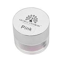Пудра акриловая, 50 г- розовая