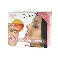 Ремувер для снятия гель лака персик D2-3
