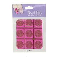 Трафарет для ногтей NF306