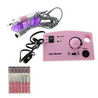 Аппарат для маникюра и педикюра 35000 оборотов ZS-602, розовый
