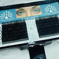 Набор ленточных ресниц Global Fashion D 0.15 14 мм