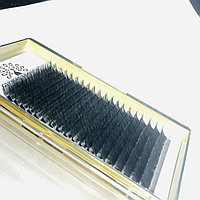 Набор ленточных ресниц Global Fashion C 0.10 12 мм (белые)