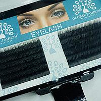 Набор ленточных ресниц Global Fashion C 0.20 10 мм