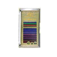 Ресницы цветные для наращивания Global Fashion 8 мм D 0.07