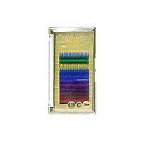 Ресницы цветные для наращивания Global Fashion 13 мм C 0.10