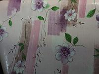 Красивая клеенка скатерть с цветами художественная, скидка 40%