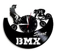 Часы BMX Bicycle Motocross велосипедный мотокросс, подарок фанатам, любителям, 1272