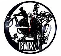 Часы BMX Bicycle Motocross велосипедный мотокросс, подарок фанатам, любителям, 1592